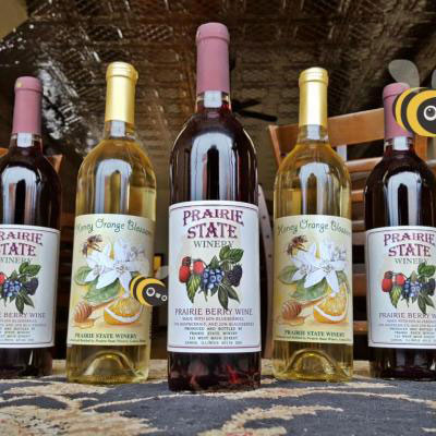 Selection of our fruit wines