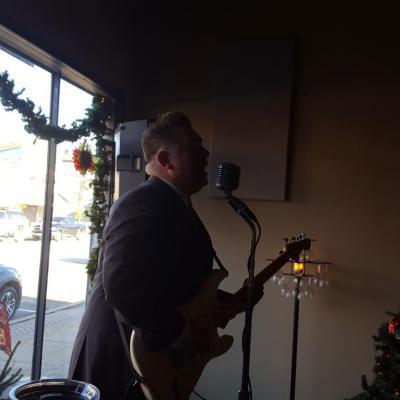 Christmas musician
