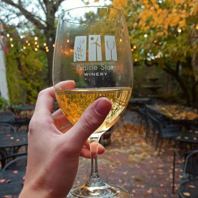 Nothing like a glass of wine on a crisp fall day
