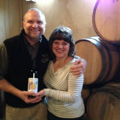 Celebrating a new wine