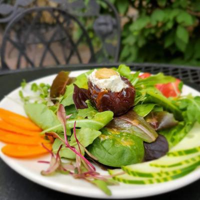 Stuffed olive salad