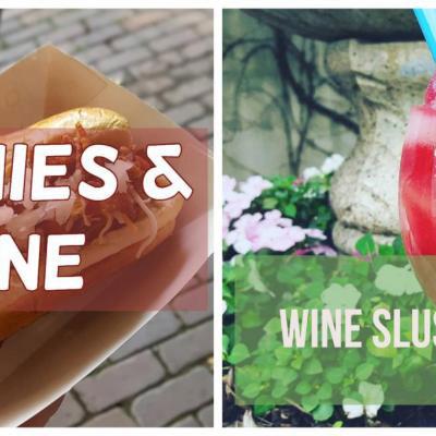 Weenies & Wine | Wine Slushies!
